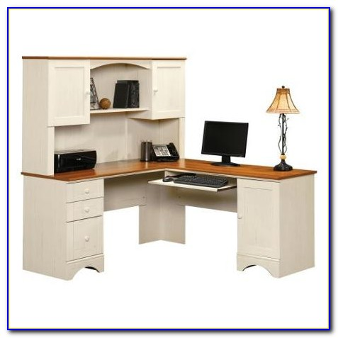 Sauder Corner Desk With Hutch Desk Home Design Ideas