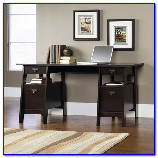 Sauder Trestle Table With Benches Bench Home Design