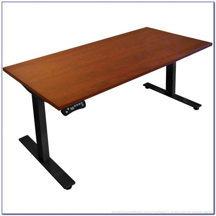 Motorized Adjustable Stand Up Desk Desk Home Design