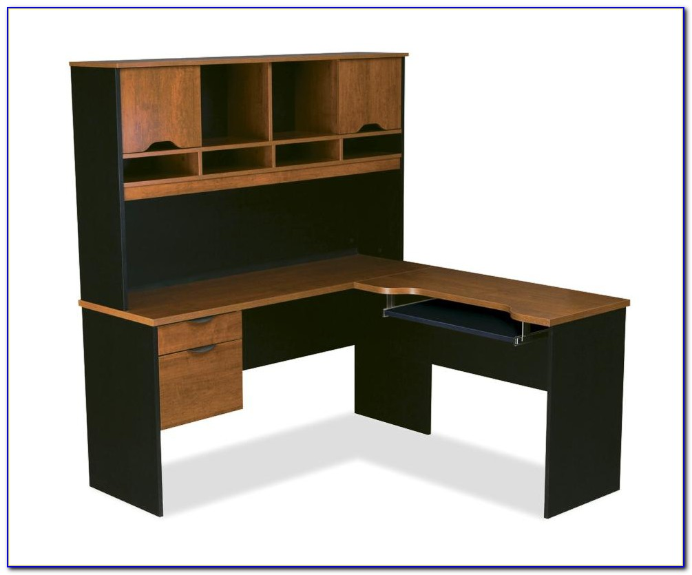 Small Corner Desk With Shelves