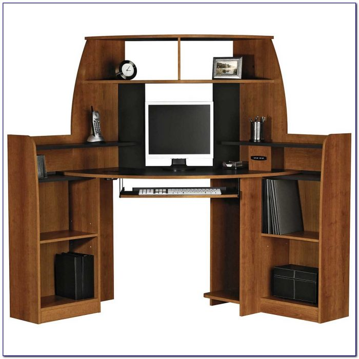 Small Desk With Cpu Storage