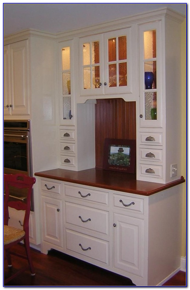 Small Kitchen Desk With Hutch Desk Home Design Ideas