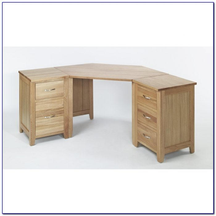 Solid Oak Corner Desk Uk