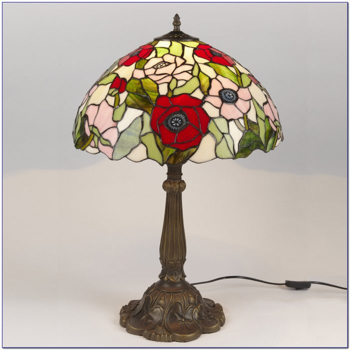 Stained Glass Desk Lamp Shade