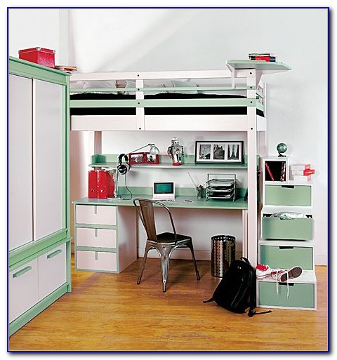 Teenage Loft Beds With Desk