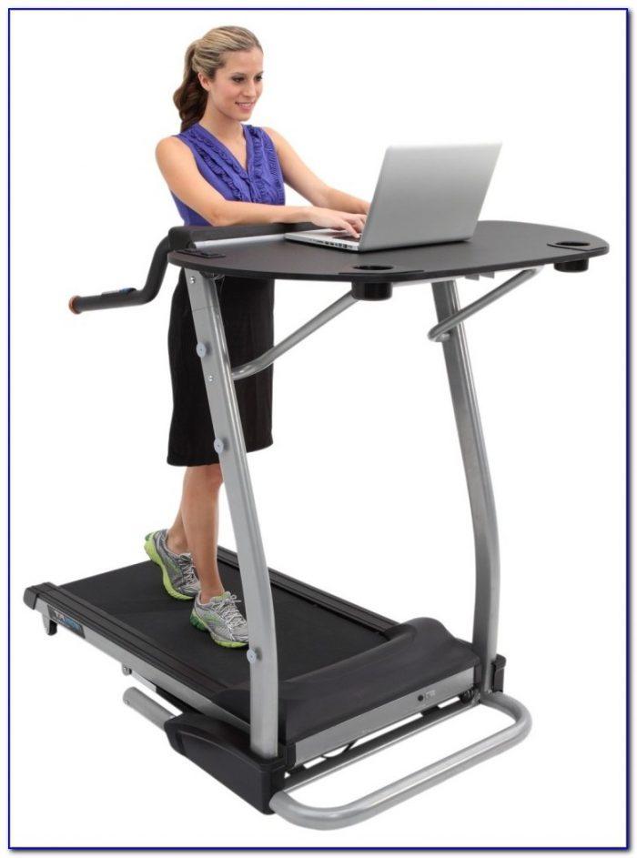 Treadmill Desk Workstation Diy