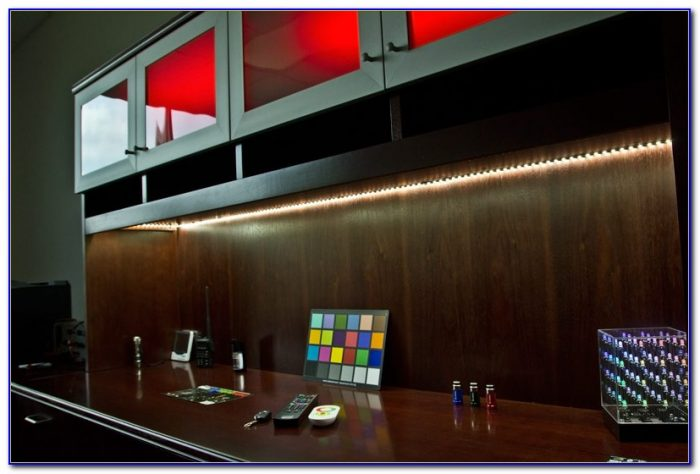 Under Desk Lighting Led Desk Home Design Ideas