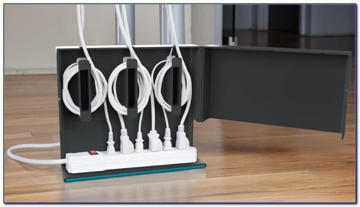 Under Desk Cable Management Baskets