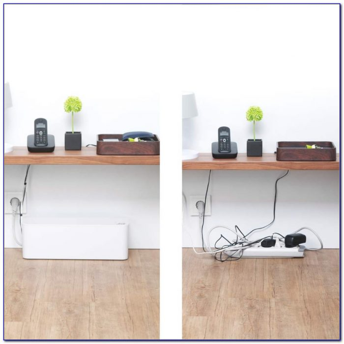 Office Under Desk Cable Tray Home Design Ideas