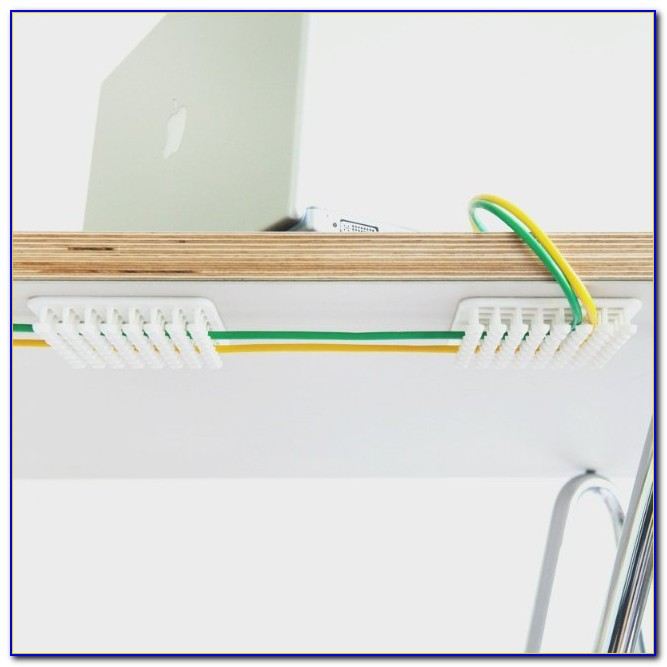 Under Desk Computer Cable Organizer