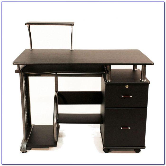 Desk With Pullout Keyboard Shelf Desk Home Design