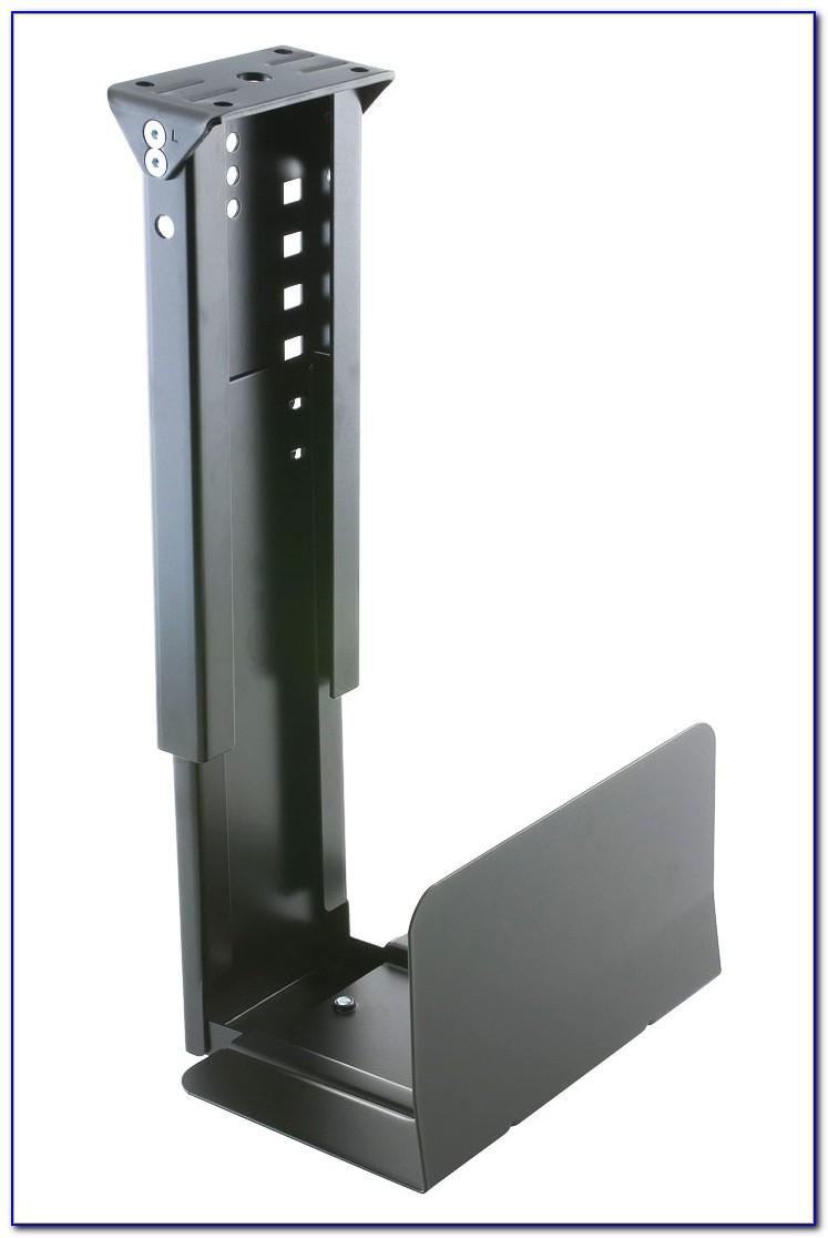 Under Desk Computer Mount Diy Desk Home Design Ideas