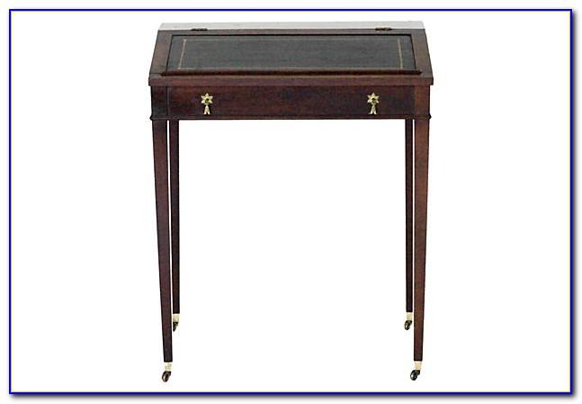 Vintage Slant Top Writing Desk
