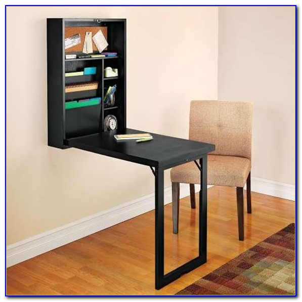 Wall Mounted Fold Away Desk
