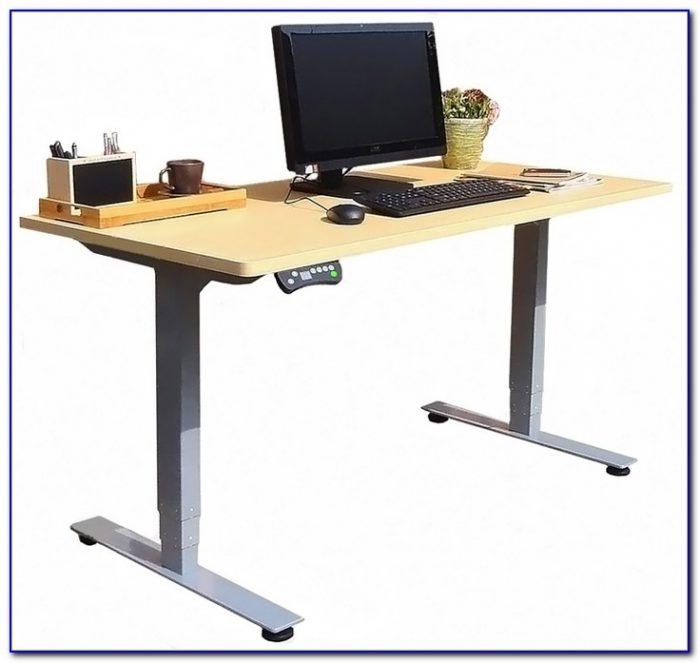 Adjustable Height Workstation Desk