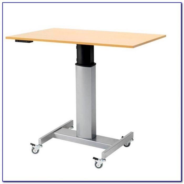 Adjustable Mobile Laptop Computer Desk
