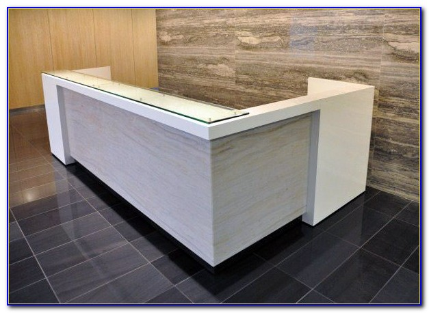 Alera Valencia Reception Desk With Transaction Counter