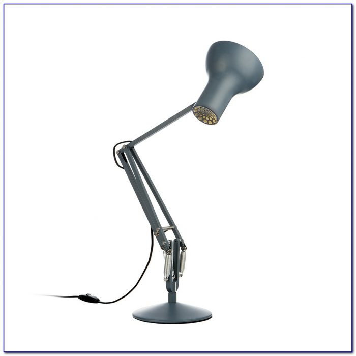Anglepoise Type 75 Mini Desk Lamp Powder Blue Desk