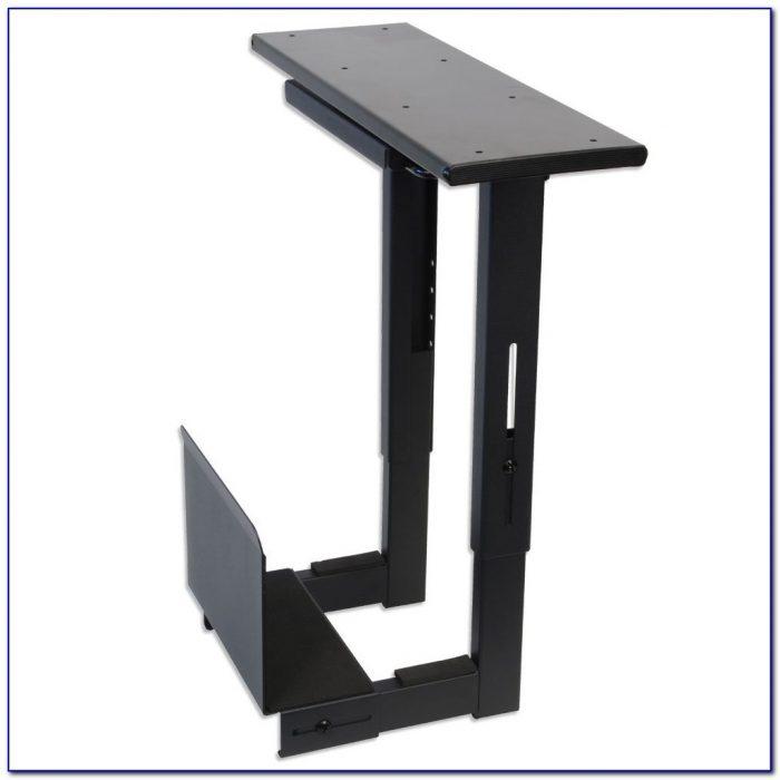 Computer Bracket Under Desk Desk Home Design Ideas