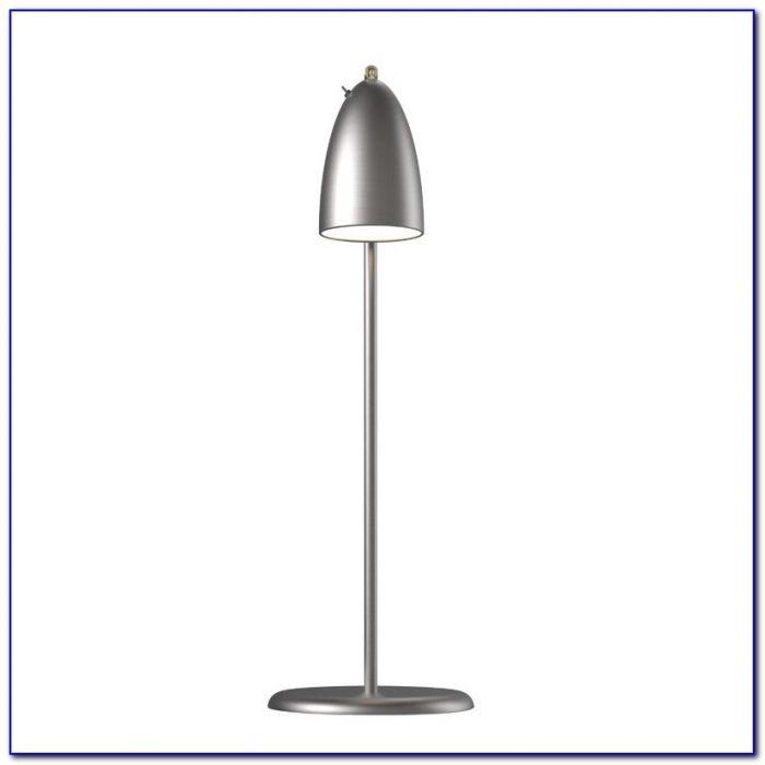 Brushed Steel Desk Lamp