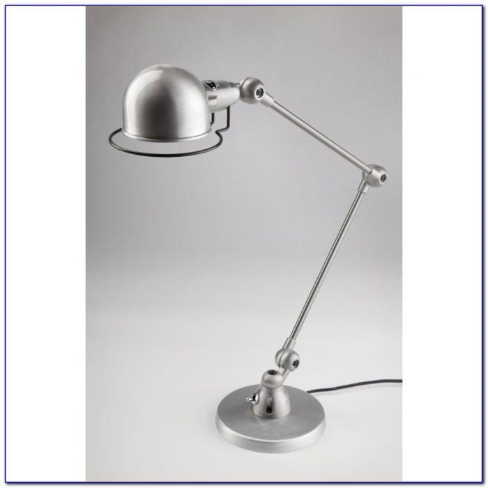 Brushed Steel Led Desk Lamp