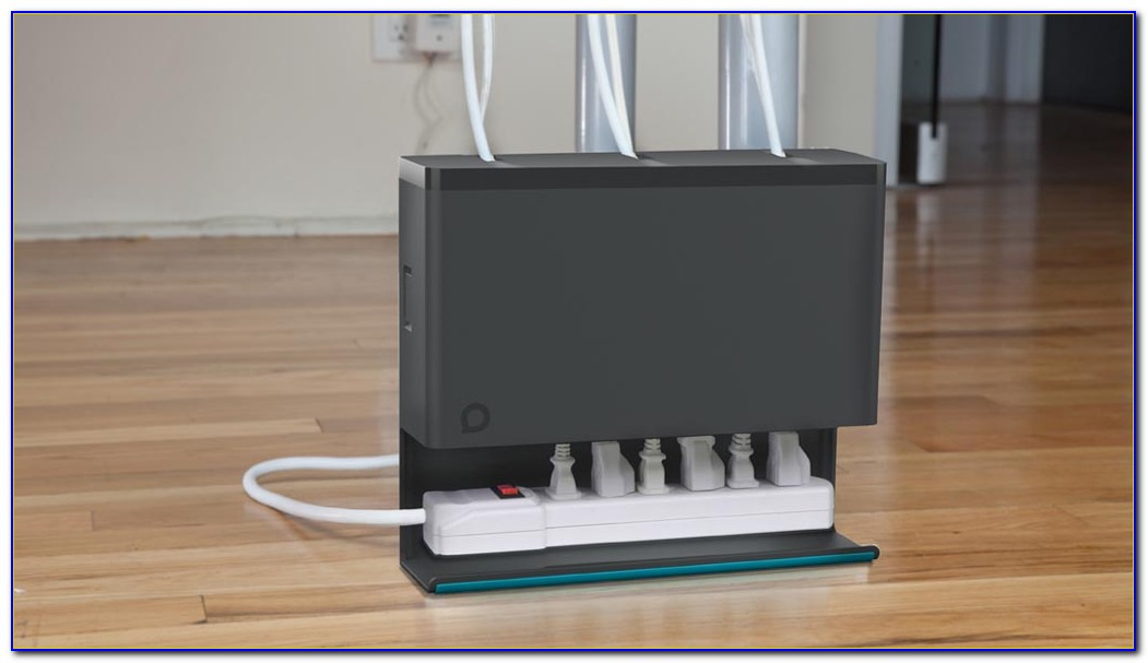 Cable Organizer Under Desk