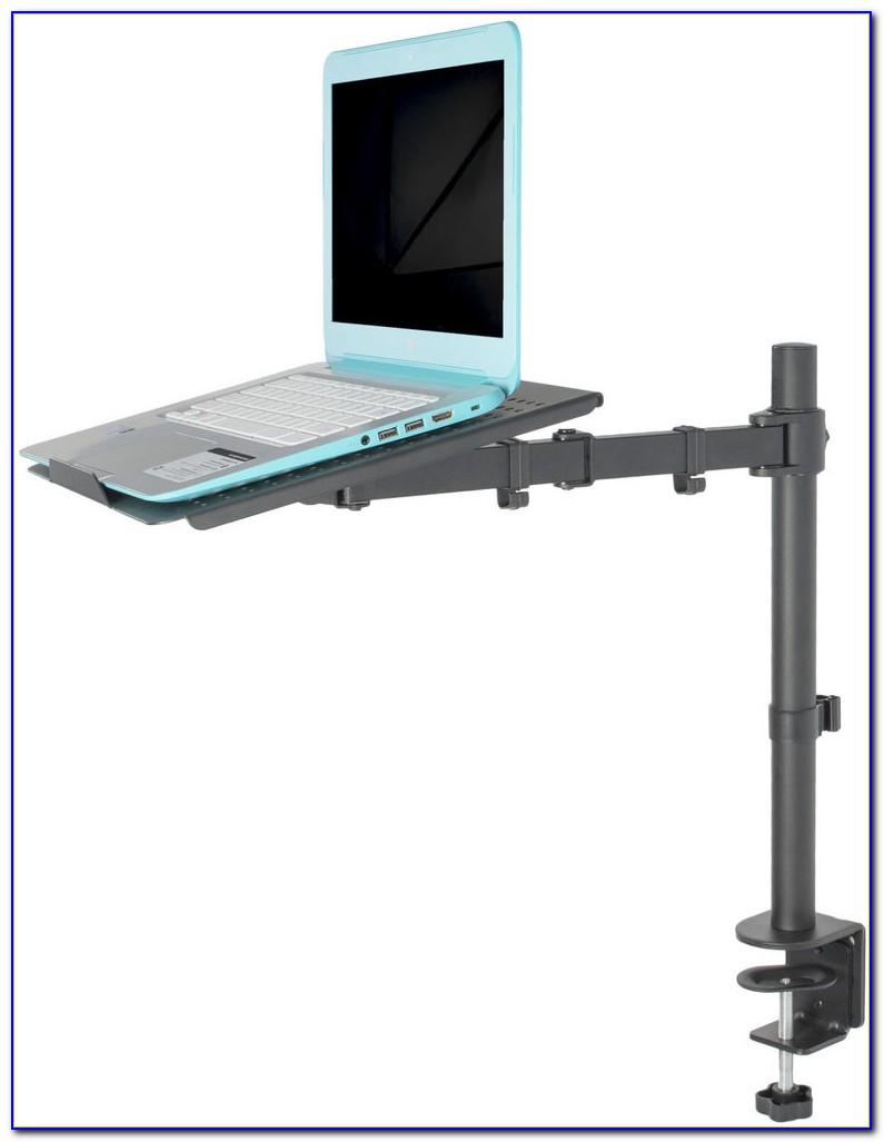 Cantilever Swing Away Laptop Desk