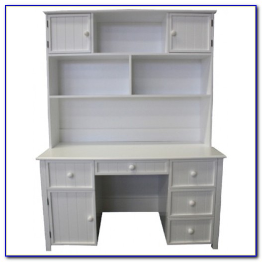 Children's Computer Desk With Hutch