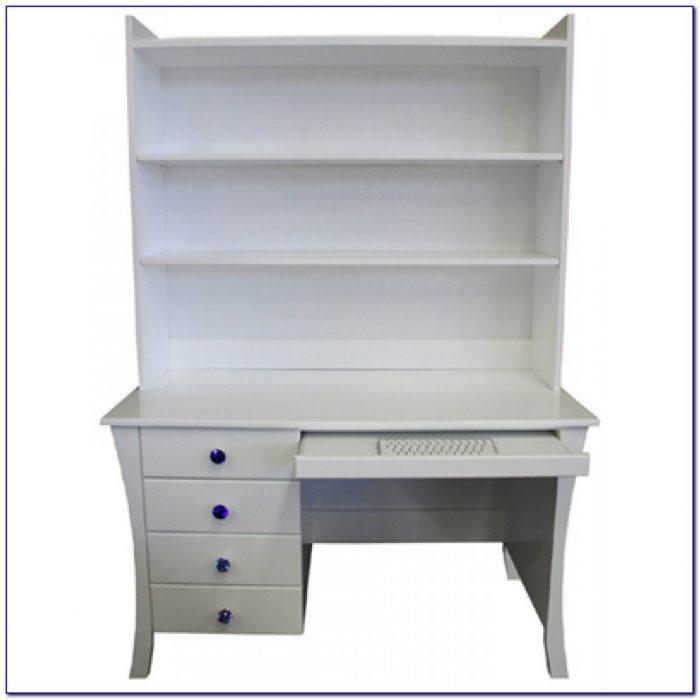 Children's Corner Desk With Hutch