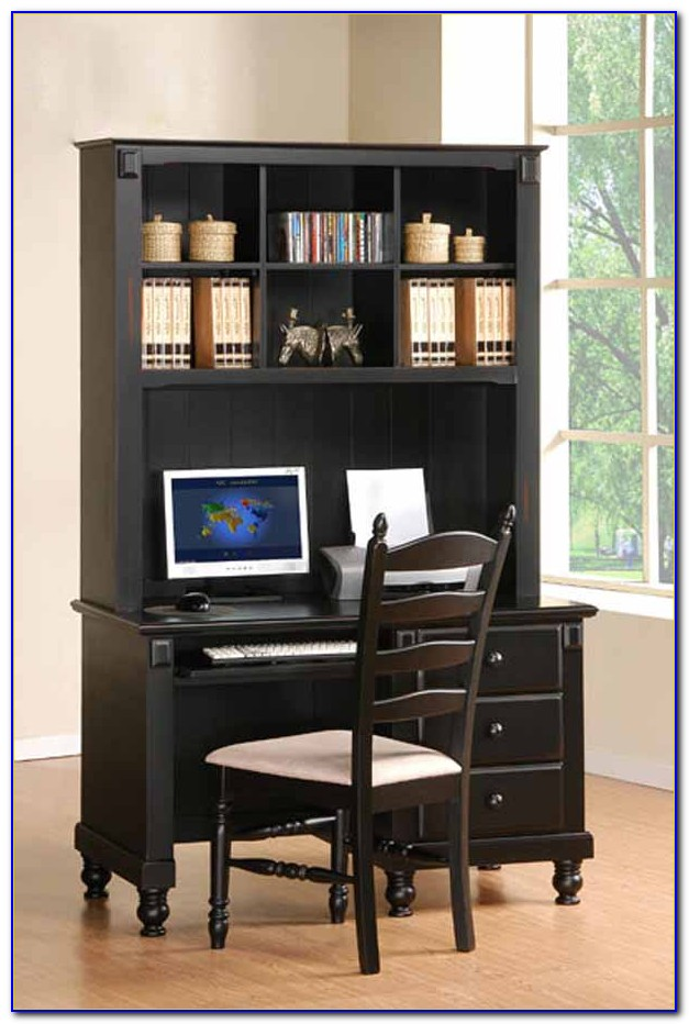 Children's Study Desk With Hutch