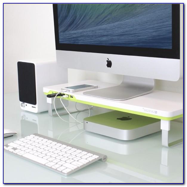 ikea computer desk monitor stand desk home design. Black Bedroom Furniture Sets. Home Design Ideas