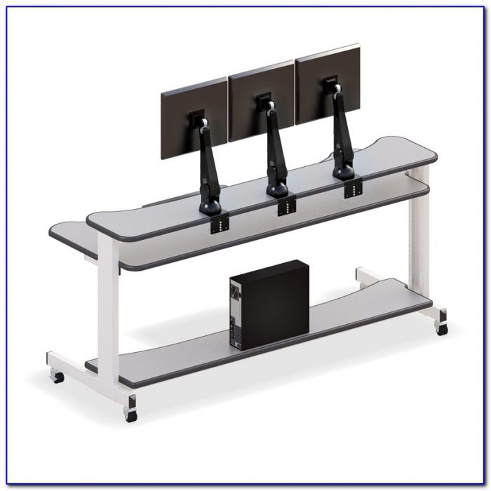 Monitor Desk Mount Stand Desk Home Design Ideas