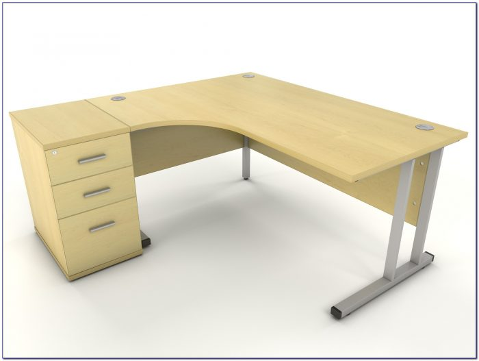 Corner Desk Home Office Oak