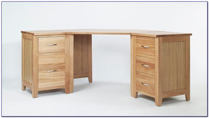 Fraser Corner Desk With Storage Oak Effect Tesco Desk