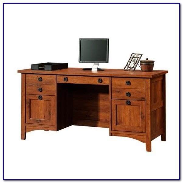 Craftsman Style Computer Desk