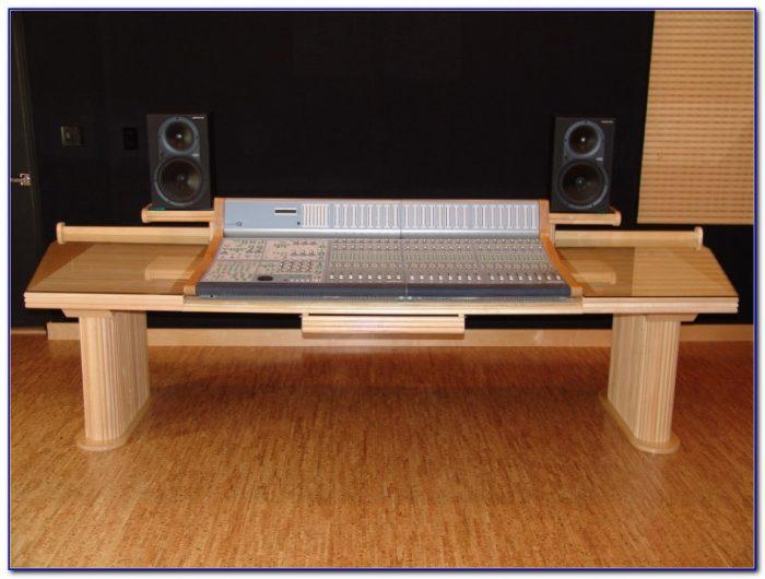 Custom Recording Studio Desk