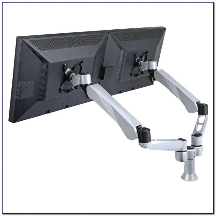 Dual Monitor Desk Mounts