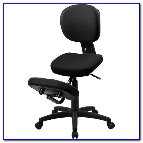 Ergonomic Kneeling Office Chair With Back