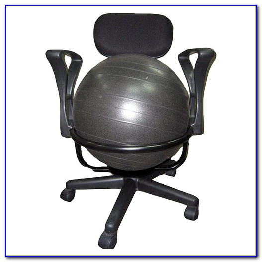 Yoga Ball Exercises At Your Desk Desk Home Design