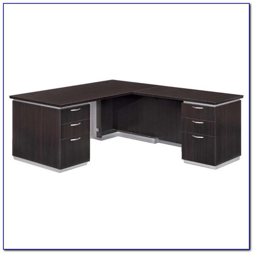 Flat Pack Corner Computer Desk