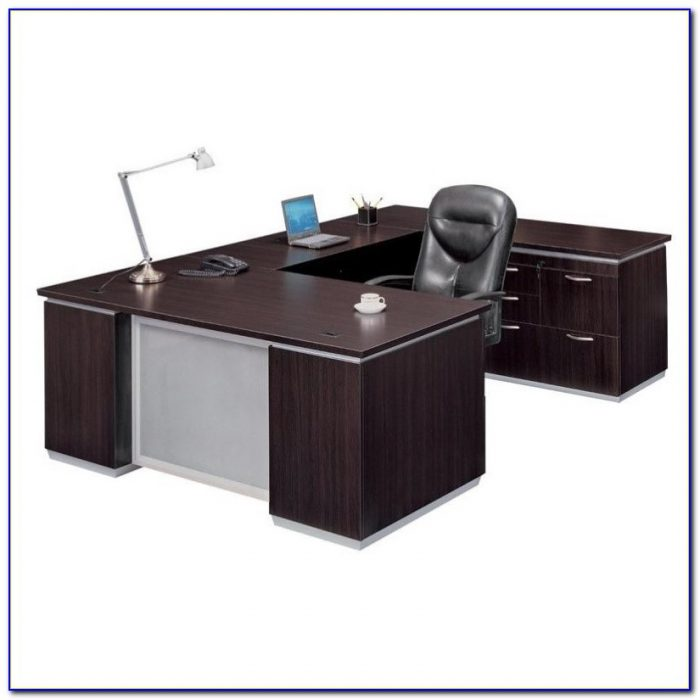 Flat Pack Wood Computer Desk