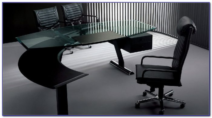 Frosted Glass Office Furniture