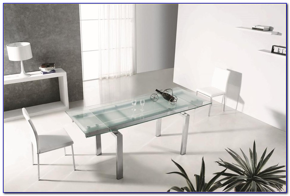 Frosted Glass Top Office Desk