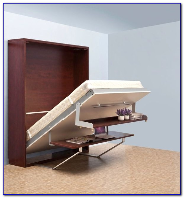 Murphy Bed With Hidden Desk - Desk : Home Design Ideas # ...