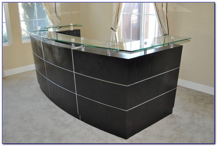 High End Reception Desk Furniture
