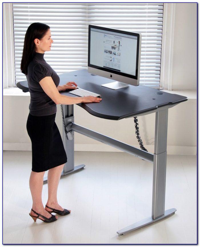 Standing desk high chair desk home design ideas for Best chair for standing desk