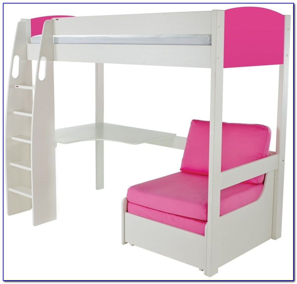 High Sleeper Cabin Bed With Futon And Desk Download Page