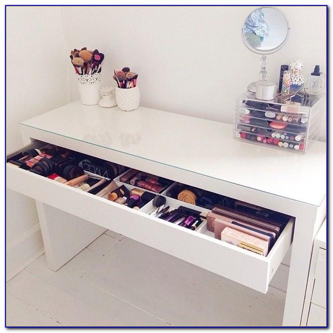 Ikea White Makeup Desk