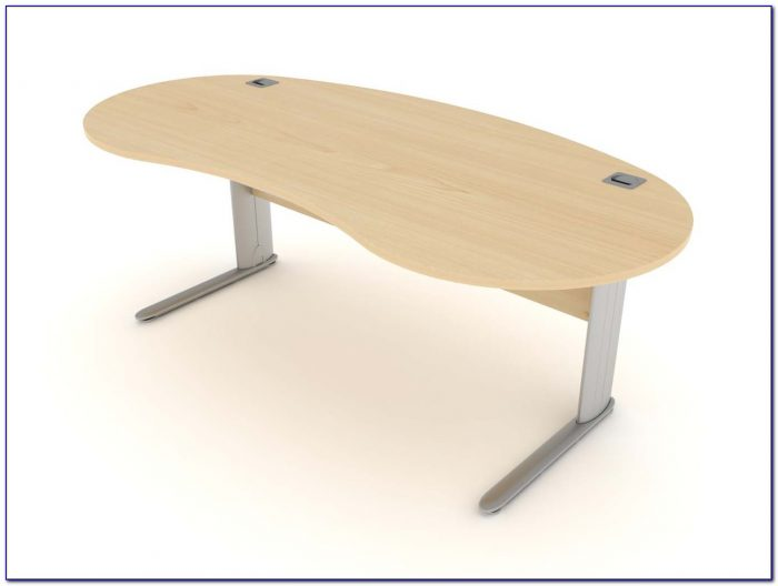 Kidney Bean Shaped fice Desk Desk Home Design Ideas