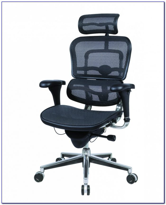 Leather Ergonomic Office Desk Chair